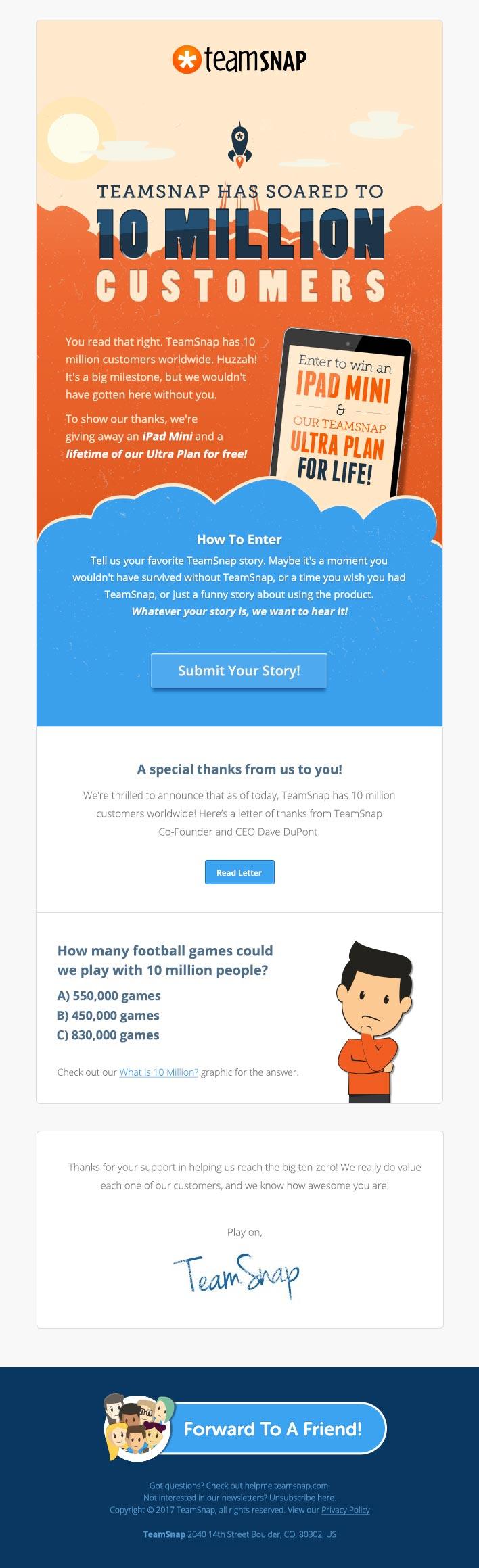 TeamSnap Partner Email