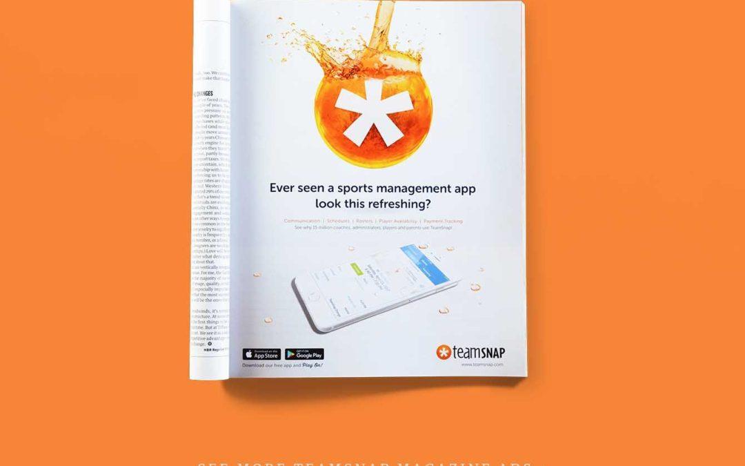TeamSnap Magazine Ads